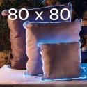 lot de 2 Coussins lumineux 80x80