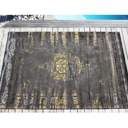 TAPIS DIVIN GOLD/GREY