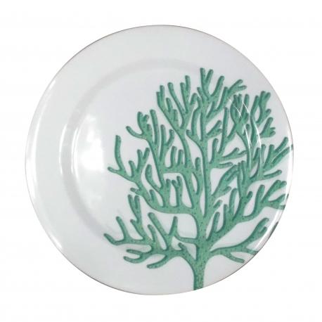 Coral Bleu Plates