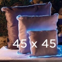 lot de 2 Coussins lumineux 45x45