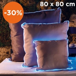 Light cushion 80x80